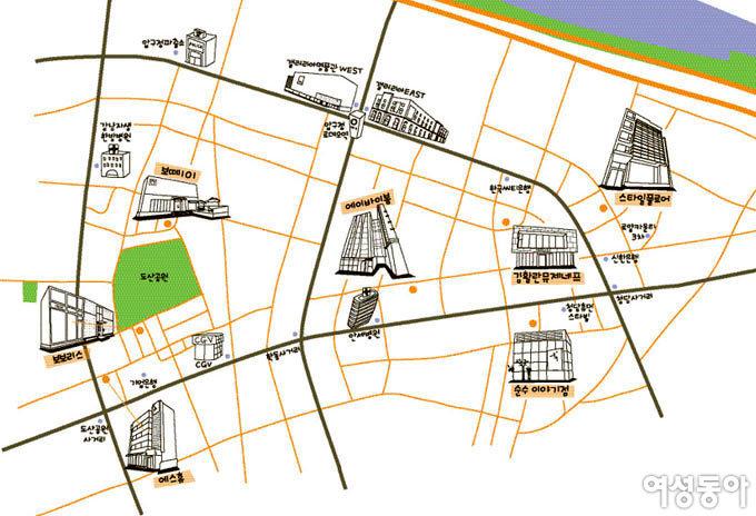 대한민국 대표 뷰티 살롱 로드 맵