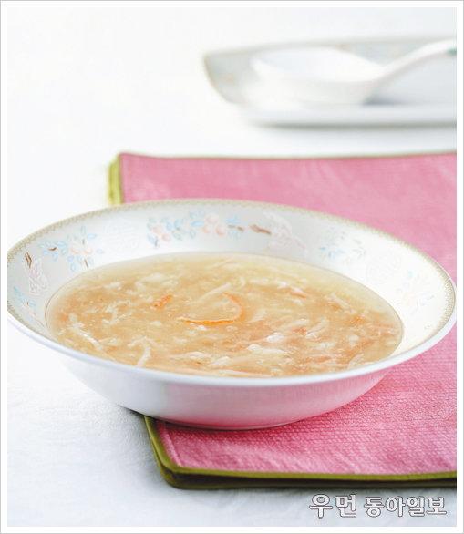 중국집에서만 먹던 게살 스프, 집에서도 간편하게!