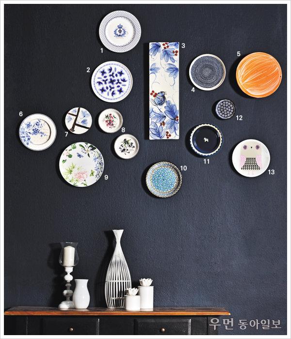 벽 표정 바꾸는 데코 솔루션~ 접시, 그림이 되다