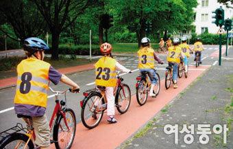 교통 선진국 독일의 자전거 학교