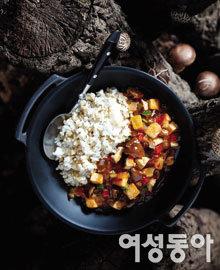 표고버섯으로 차린 가을 식탁