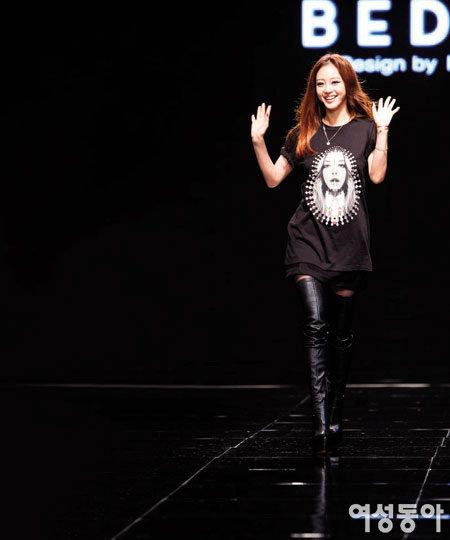 모델 출신 배우 한예슬 패션쇼 지휘한 사연은…