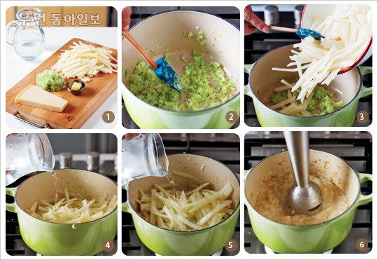 찬바람 불면 수프 한 그릇 ④ 기본 수프 2 - 버터와 치즈로 맛낸 감자수프