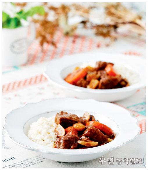 찬바람 불면 수프 한 그릇 ⑨ 채소비프수프 이용한 요리-하이라이스