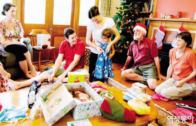 미국 부모들에게 크리스마스란