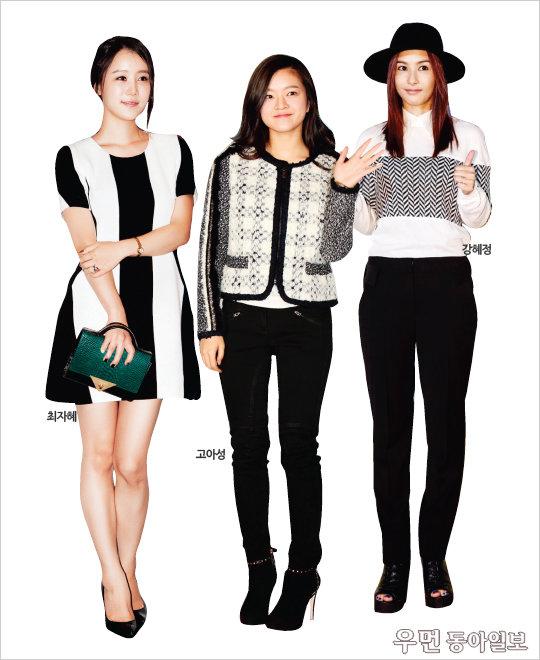 파티 퀸이 되기 위한 3가지 패션 키워드~ Be a Party Queen ② Black & White