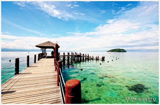 한겨울에 떠나는 열대 낙원! 말레이시아 코타키나발루 수트라하버 리조트