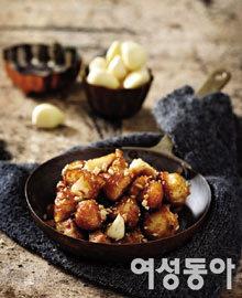 한 알의 보약, 마늘 요리