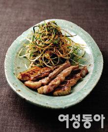고기와 환상궁합, 곁들이 채소무침