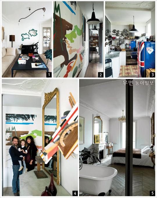 Art&Life갤러리 오너 줄리앙 롬 브레일의 아파트