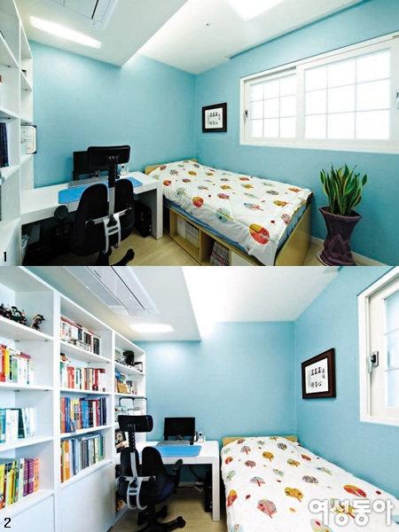 공부 잘하는 아이들의 방