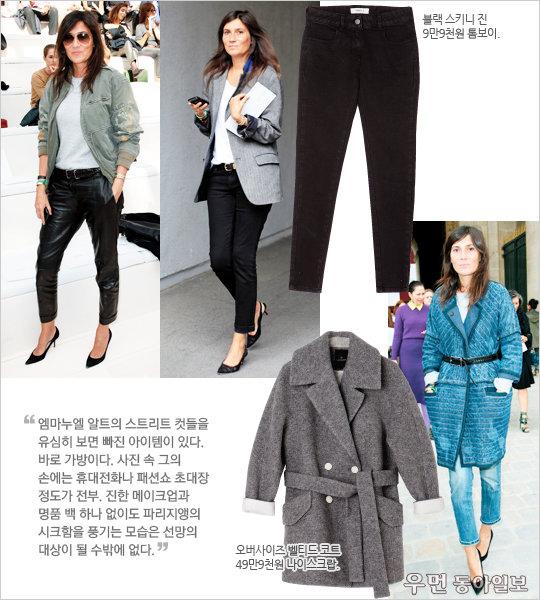 Fashion  people  no.4 winter  styling ① '보그'파리 편집장 엠마누엘 알트