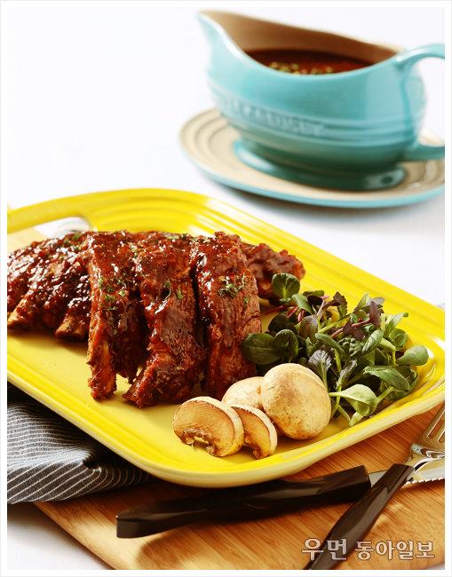 집에서 즐기는 최고급 바비큐 립-푸드 스타일리스트 오용은과 함께한 르크루제 스톡 팟 요리