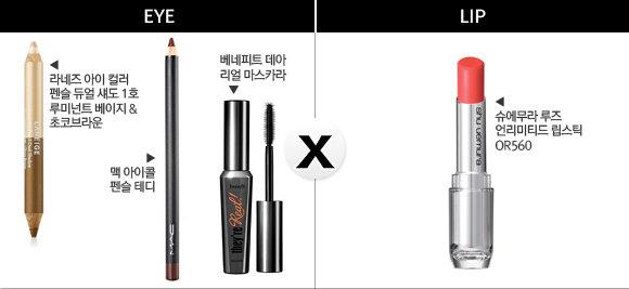 그녀들의 립 X 아이 매칭 공식