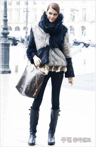 FOR A SNOWY DAY 할리우드 스타들의 눈 오는 날 패션