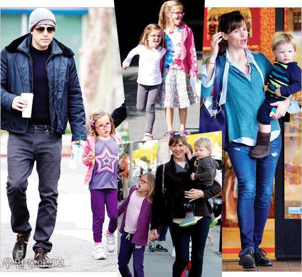 Celebrity family look~ ③ 벤 애플렉&제니퍼 가너, 그웬 스테파니&게빈 로스데일 가족