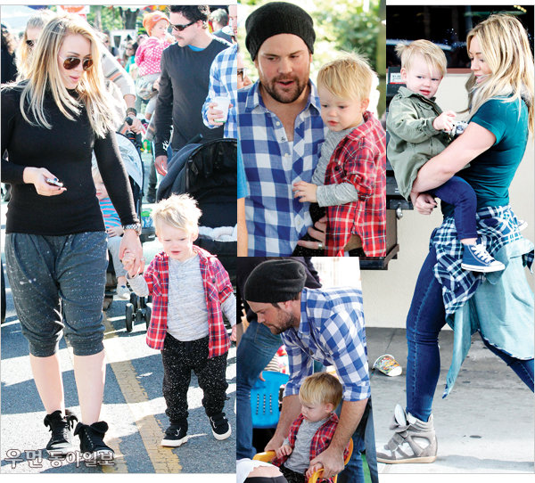 Celebrity family look~ ⑤ 마돈나 가족, 힐러리 더프&마이크 컴리에 가족