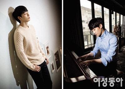 피아노 치는 남자 윤한이 궁금하다