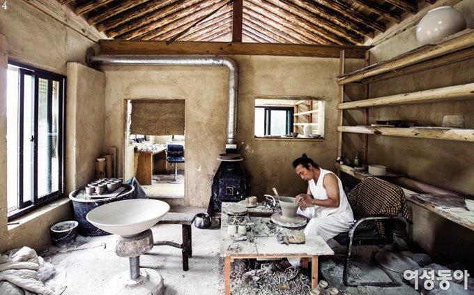 아티스트들의 일과 집