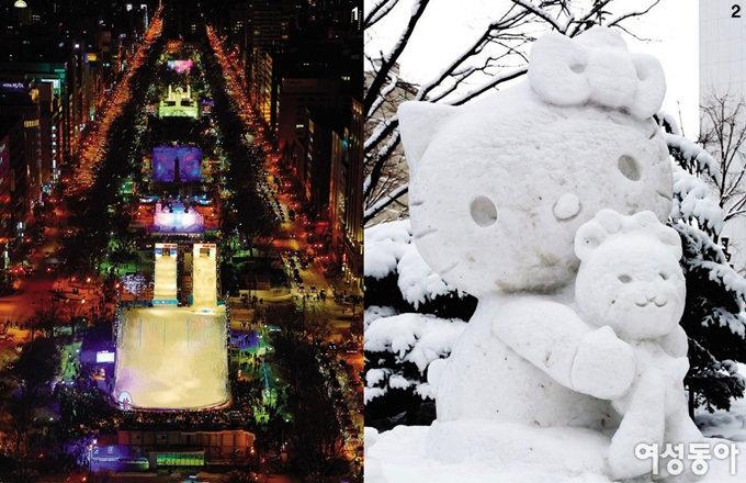삿포로 눈축제와 함께 이 겨울도 안녕