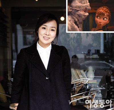 '겨울왕국' 안나 목소리 성우 박지윤