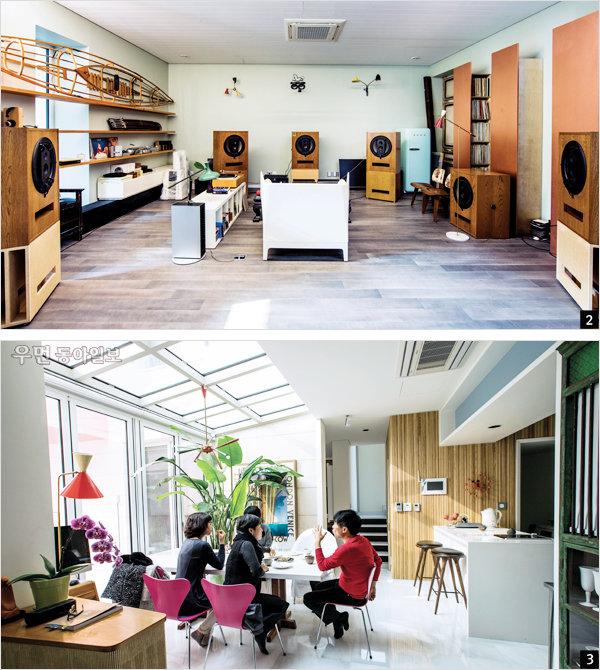 Inspired by Space~ 아티스트들의 일과 집 ① 인테리어 디자이너 마영범의 컬렉트 하우스