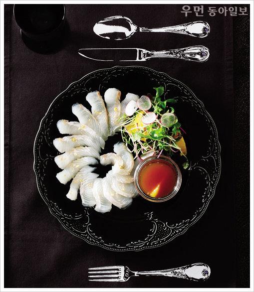 Salads De Luxe~ 광어회카르파초