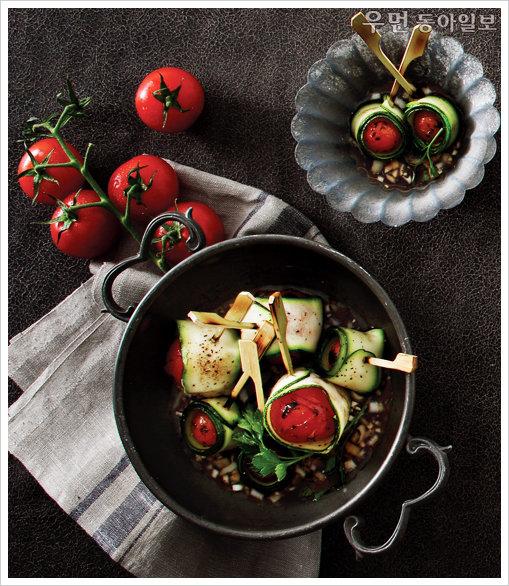 Salads De Luxe~ 토마토주키니마리네이드