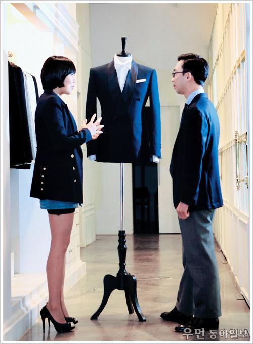 슈트 마니아 본드, 슈트 잘 만드는 여자를 만나다! Bond and Tailor... 블로거 본드의 특별한 인터뷰