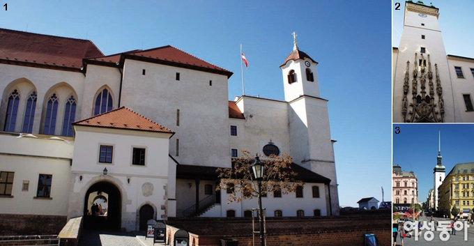 중세 유럽의 자취가 남아 있는 아름다운 도시 체코 브르노&올로모우츠