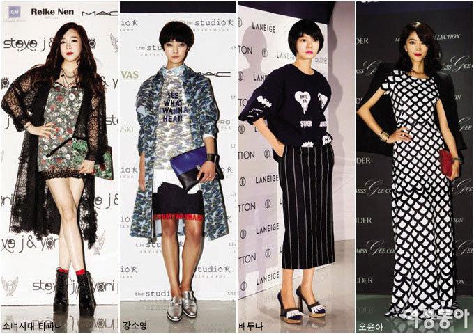 코리아 톱 디자이너들과 패션으로 연대한 스타들