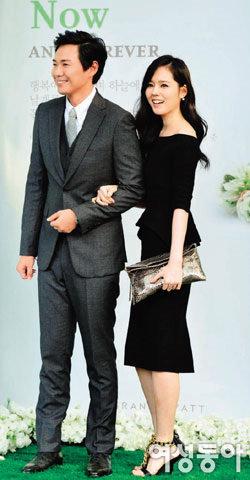 결혼 9년 만에 임신, 연정훈·한가인 부부