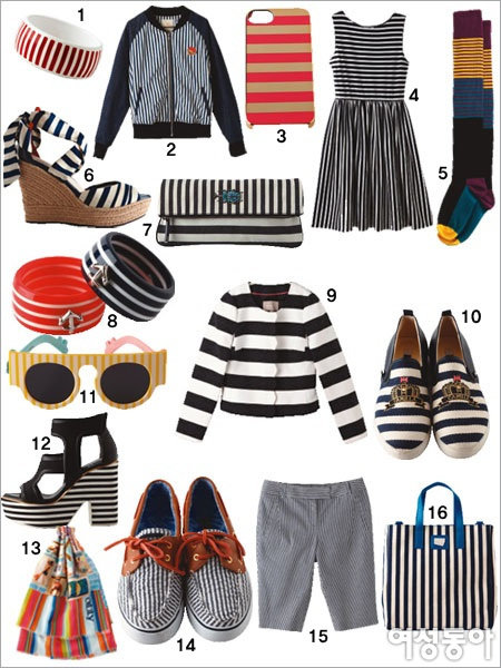 STRIPE AND LACE