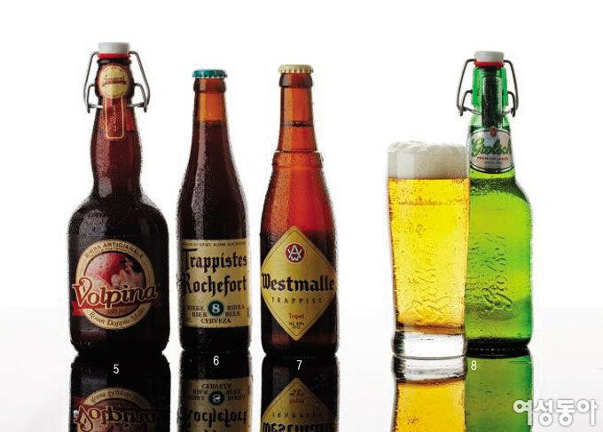 유럽 프리미엄  beer 리스트