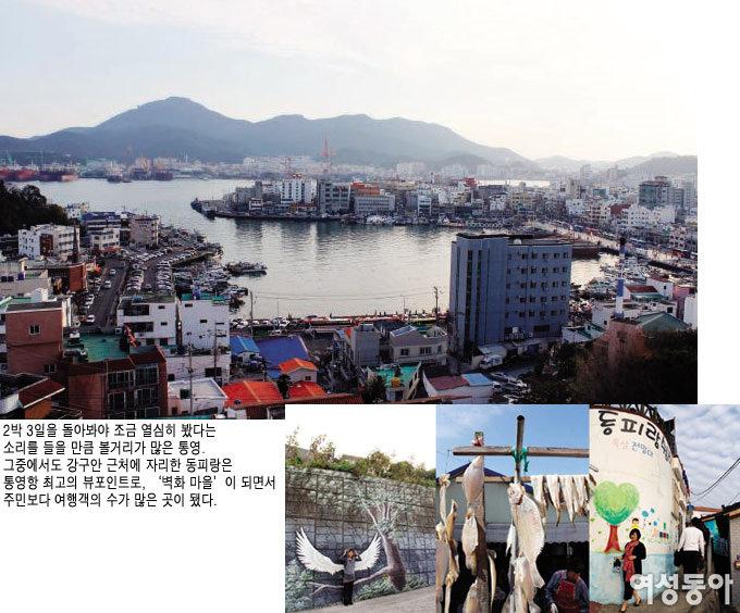 작가 박경리 '파시'의 무대, 경남 통영
