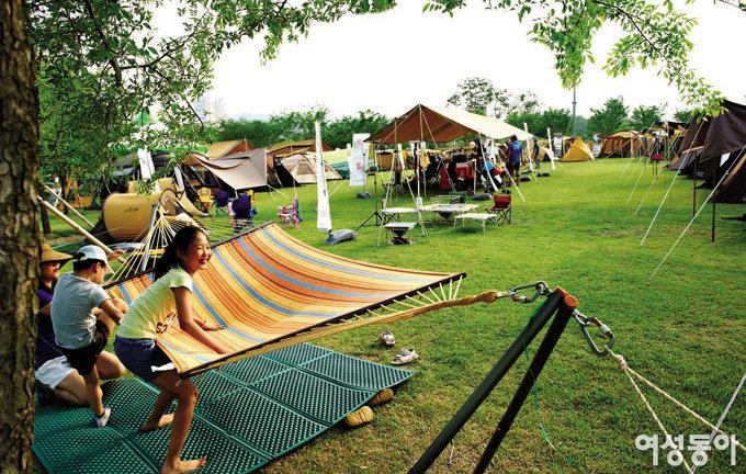 캠퍼들의 축제 한마당 '코베아 캠핑 페스티벌'을 가다