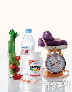 비키니를 위한 센 다이어트 꽉 찬 비타민 '센트룸'이 필요하다
