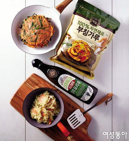 건강하게 즐기는 장마철 부침 요리