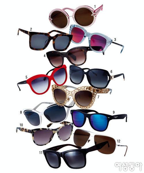 그녀들의 '성깔'있는 선글라스