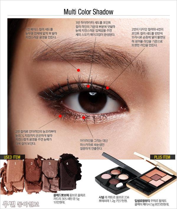 한국 여성에게 가장 잘 어울리는 브라운, 나만의 '레전드' 활용법! BROWN SOUL EYES