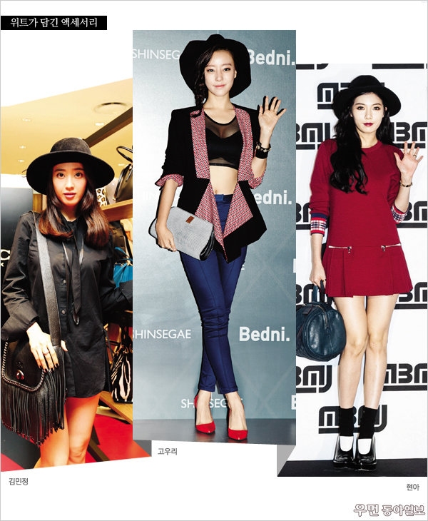 HOW TO WEAR 2014 FALL TRENDS WITH STARS! 가을의 패션왕