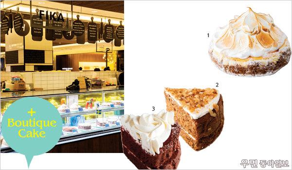 백화점 완전체 디저트~ 부띠끄 케이크 & 떠먹는 디저트