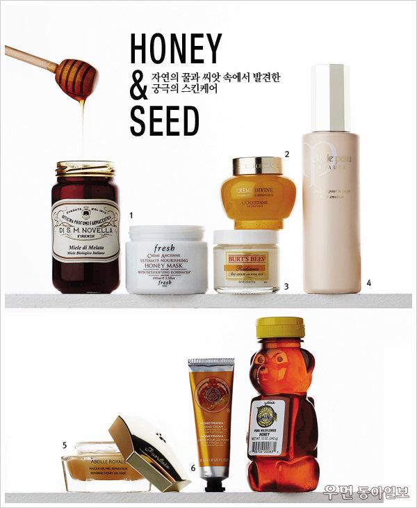 자연의 꿀과 씨앗 속에서 발견한 궁극의 스킨케어~ Honey & Seed