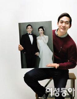 모델 출신 아나운서 정규현 품절남 되다!