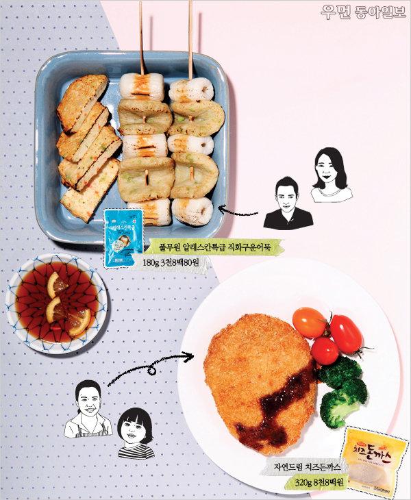 여성동아 먹방단이 떴다! 1월 신상 시판 음식 평가표