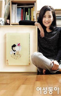 배우에서 화가로, 김현정 행복에 이르는 길을 찾다