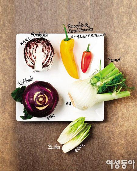 신기한 나라의 채소와 과일