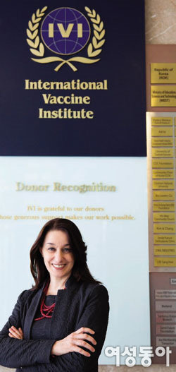 인도주의 실천 위해 지구 반대편에서 날아온 IVI 라우라 디질리오 박사