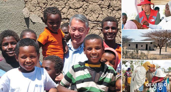 에티오피아 어린이들의 웃음&콜레라 백신