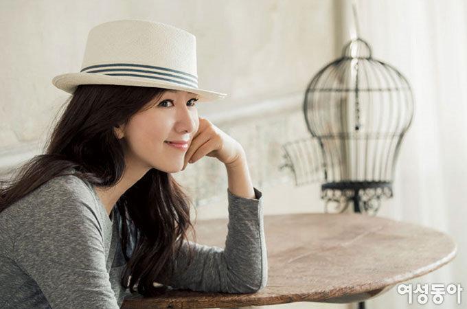 김희애, 패션 감각을 나누다